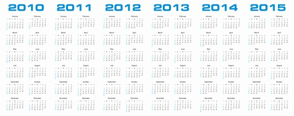 5 Year Calendar Starting 2016 Elegant Search Photos by Germán Ariel Berra