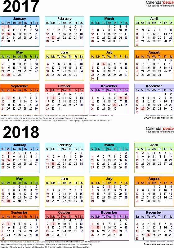 5 Year Calendar Starting 2016 New Campusjaar 2017 2018 Campus Columbus