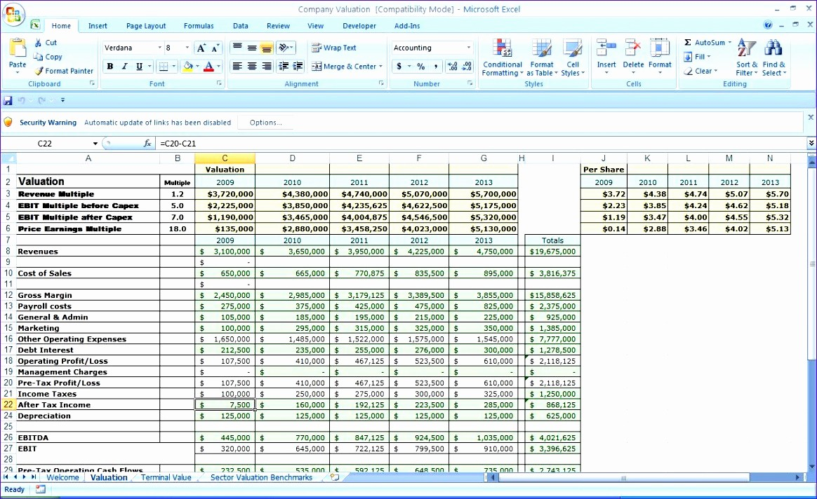 5 Year Plan Template Excel Best Of 8 5 Year Business Plan Template Excel Exceltemplates