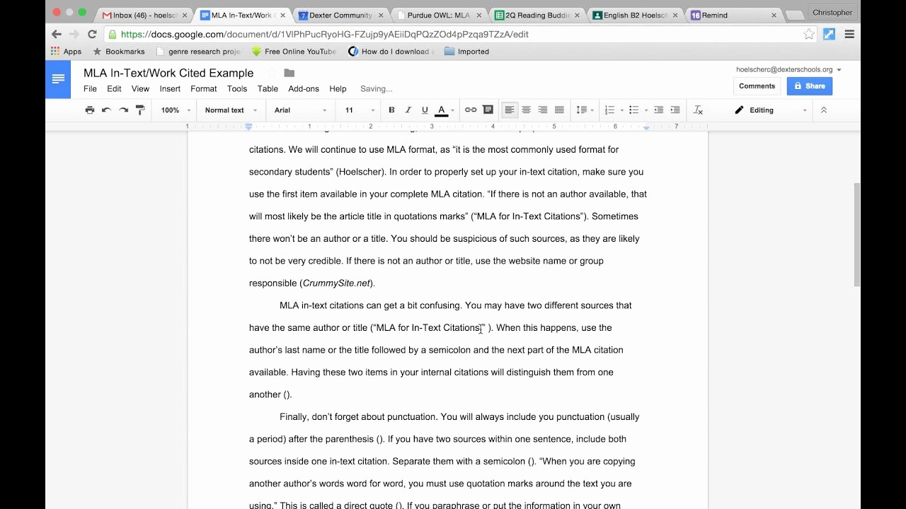 500 Word Essay Mla format Lovely How to Cite A Website In Paper Using Mla format