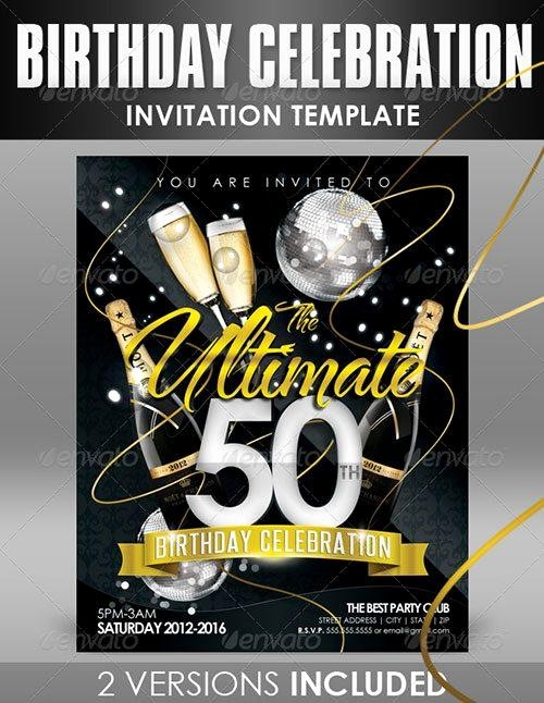 50th Birthday Flyer Template Free Best Of Lanyard Invitation Template
