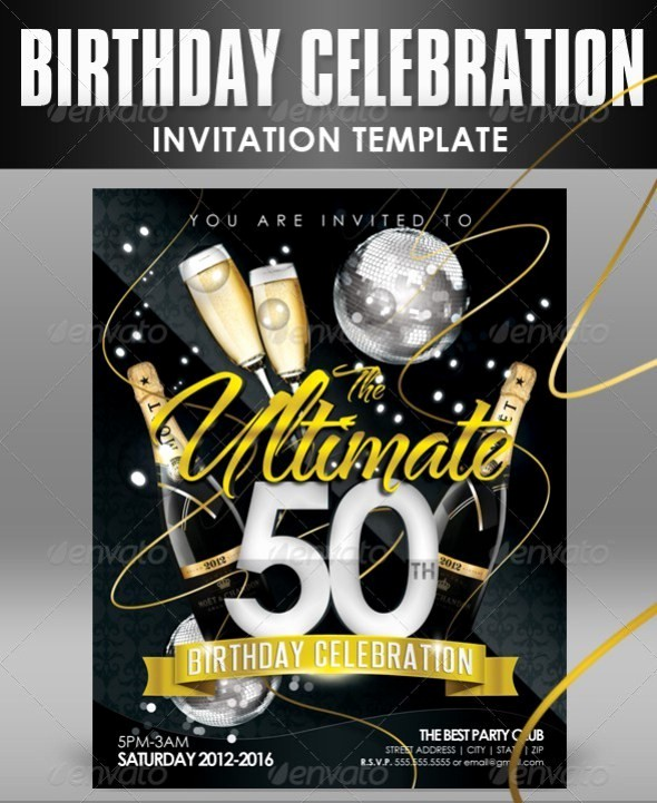50th Birthday Flyer Template Free Inspirational 50th Birthday Flyer Muco Tadkanews Co 50 Awesome Free