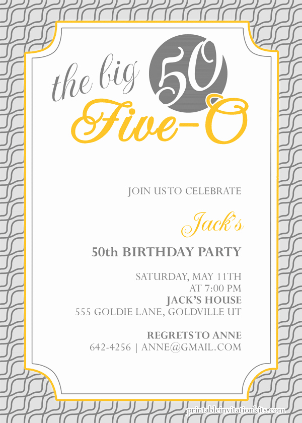 50th Birthday Flyer Template Free Inspirational 50th Birthday Flyer Template Free Yourweek 645f11eca25e