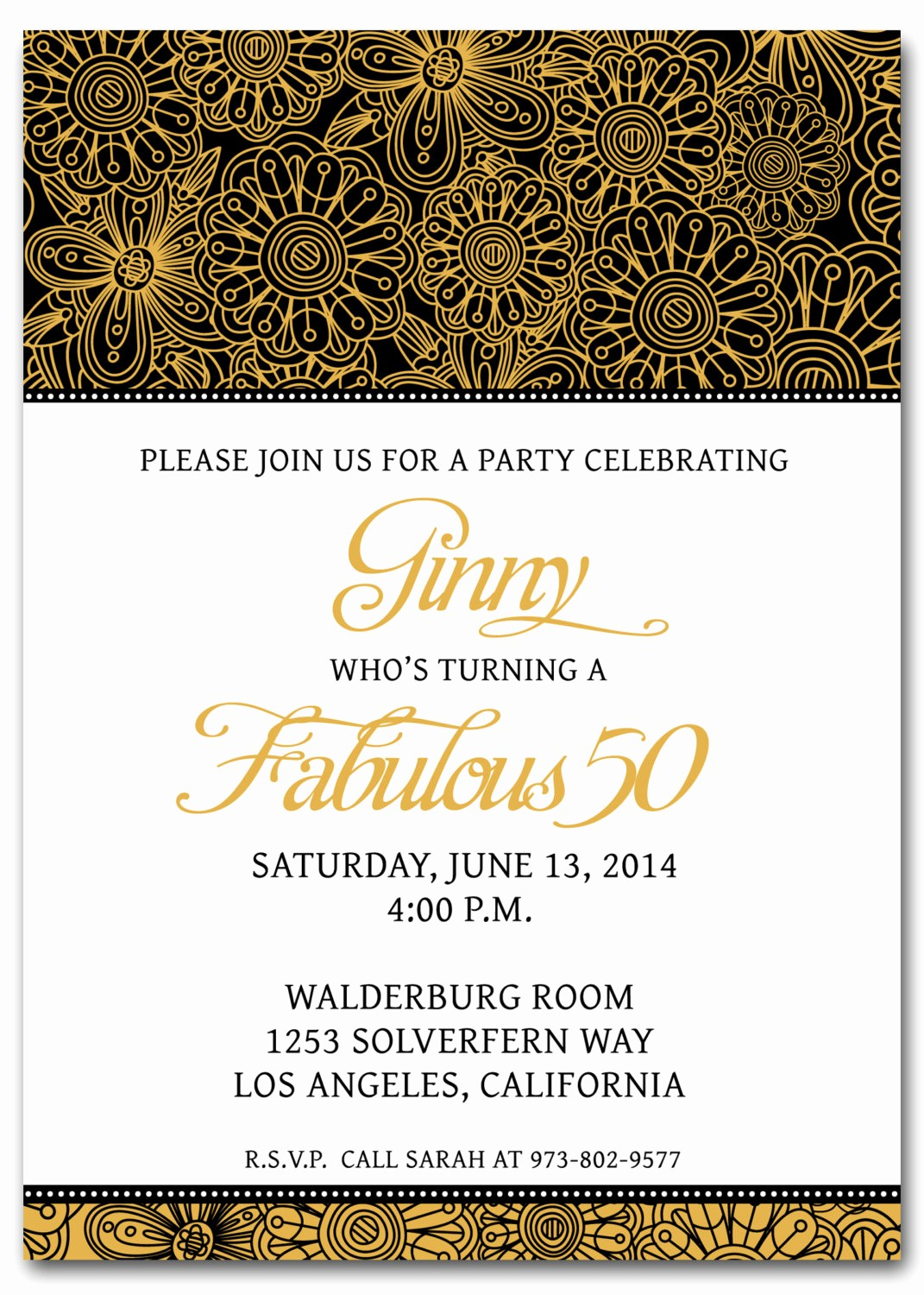 50th Birthday Flyer Template Free Unique Th Birthday Invitation Templates Free Printable My