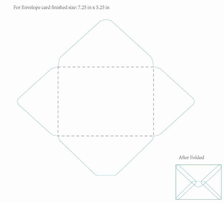 5x7 Greeting Card Template Word Unique 5 25 X 7 25 Envelope Template In Word Name