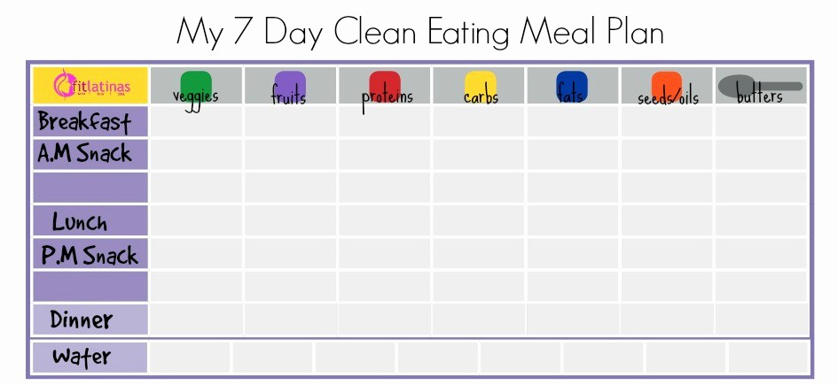 7 Day Menu Planner Template Beautiful 7 Day Meal Planner Template