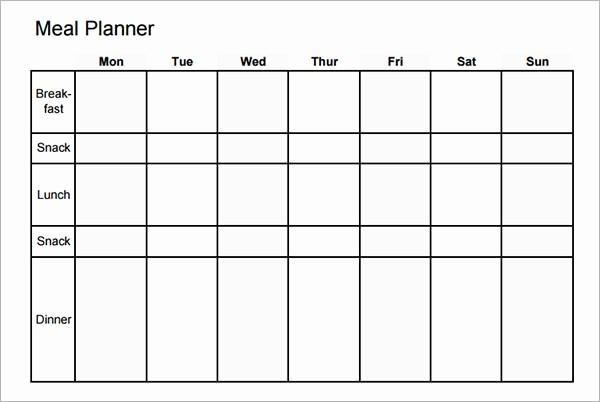 7 Day Menu Planner Template Elegant 3 Major Reasons Your Diet is Not Working