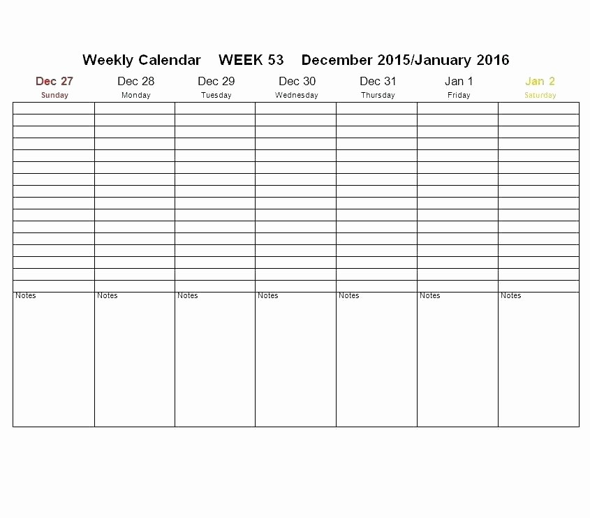 7 Day Schedule Template Excel Fresh Template 7 Day 24 Hour Calendar Template Schedule Excel