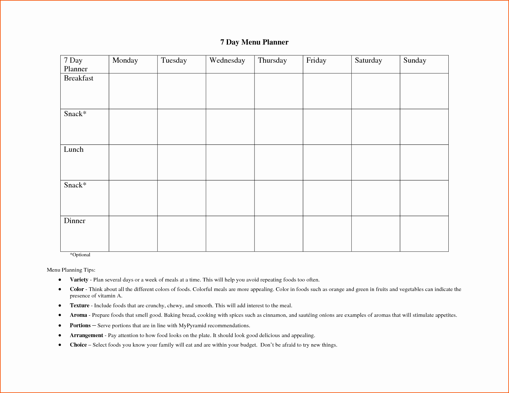 7 Day Schedule Template Excel Inspirational 8 Day Planner Template Bookletemplate
