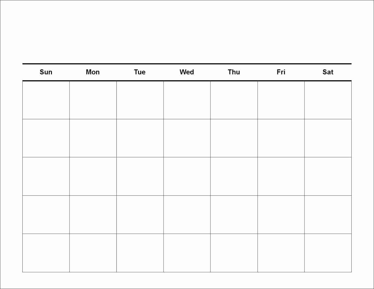 7 Day Week Calendar Template Best Of 7 Day Calendar Template Clever Ideas