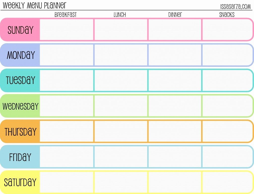 7 Day Week Calendar Template Fresh Pin by Debbie Erickson On organization