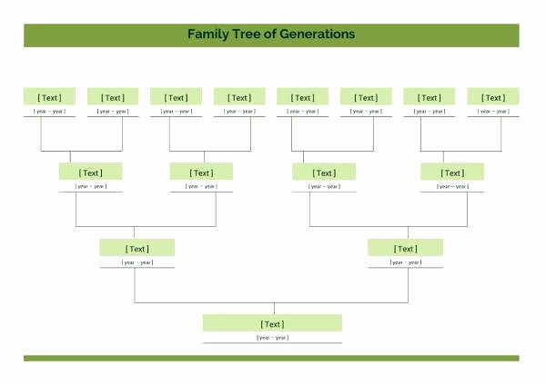 7 Generation Family Tree Template Fresh Family Tree Related for Printable Preschool Worksheet Pdf
