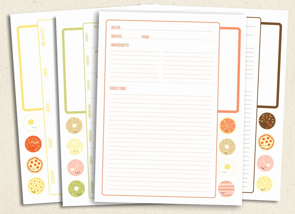 8.5 X 11 Recipe Template Awesome 5 Best Of Free Printable Recipe Pages 8 5x11 Free
