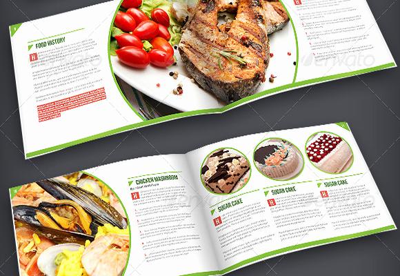 8.5 X 11 Recipe Template Beautiful 10 attractive Cooking Brochure Templates –psd Ai Vector