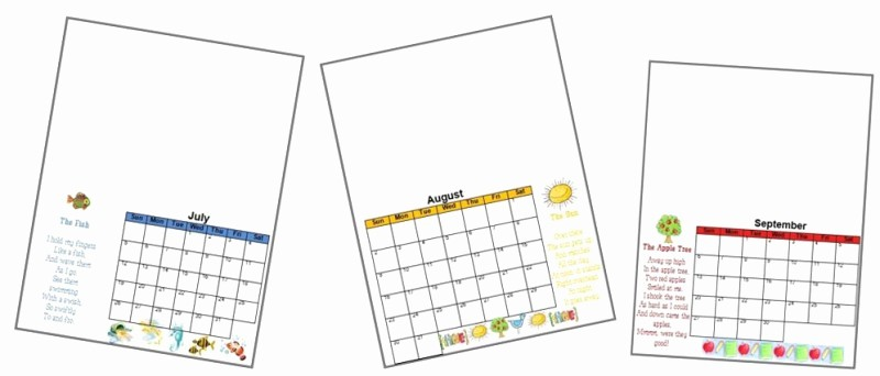 8.5 X 11 Recipe Template Beautiful 2017 Handprint Calendar Template Printable
