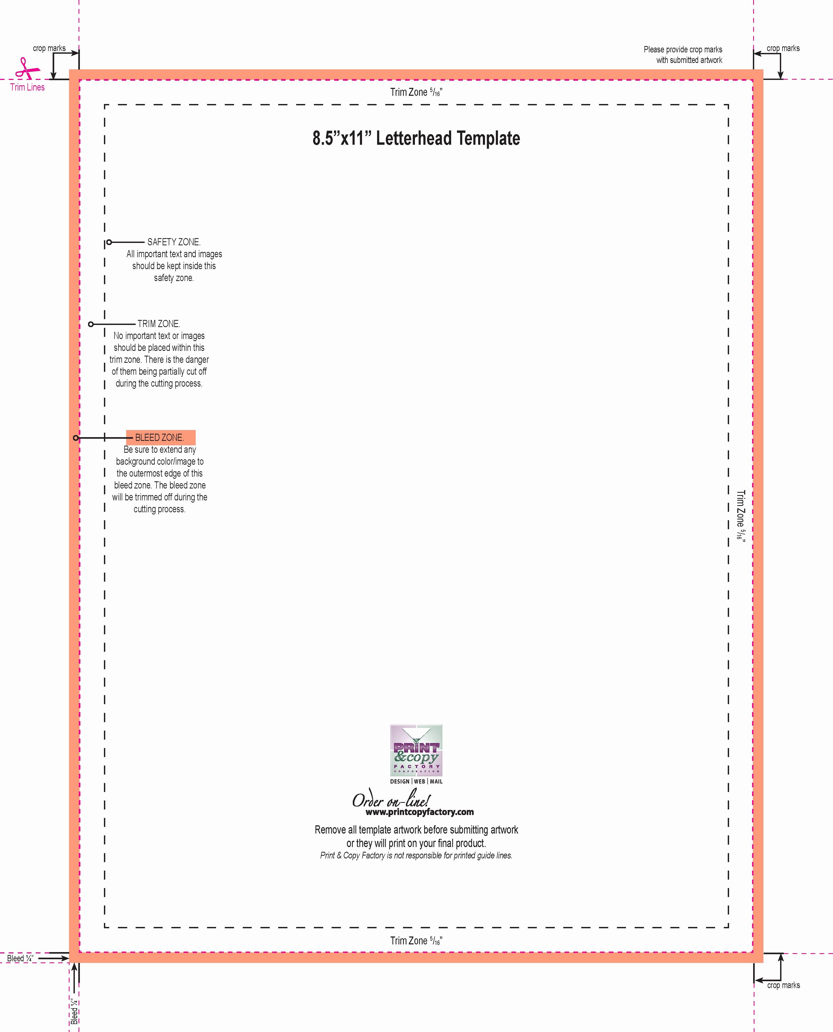 8.5 X 11 Recipe Template Best Of Design Templates Print & Copy Factory