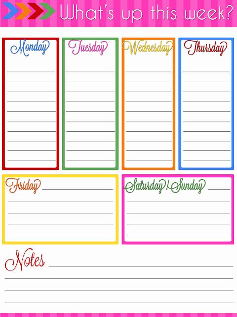 8.5 X 11 Recipe Template Fresh Ultimate Planner Notebook Add Weekly Planner Printable