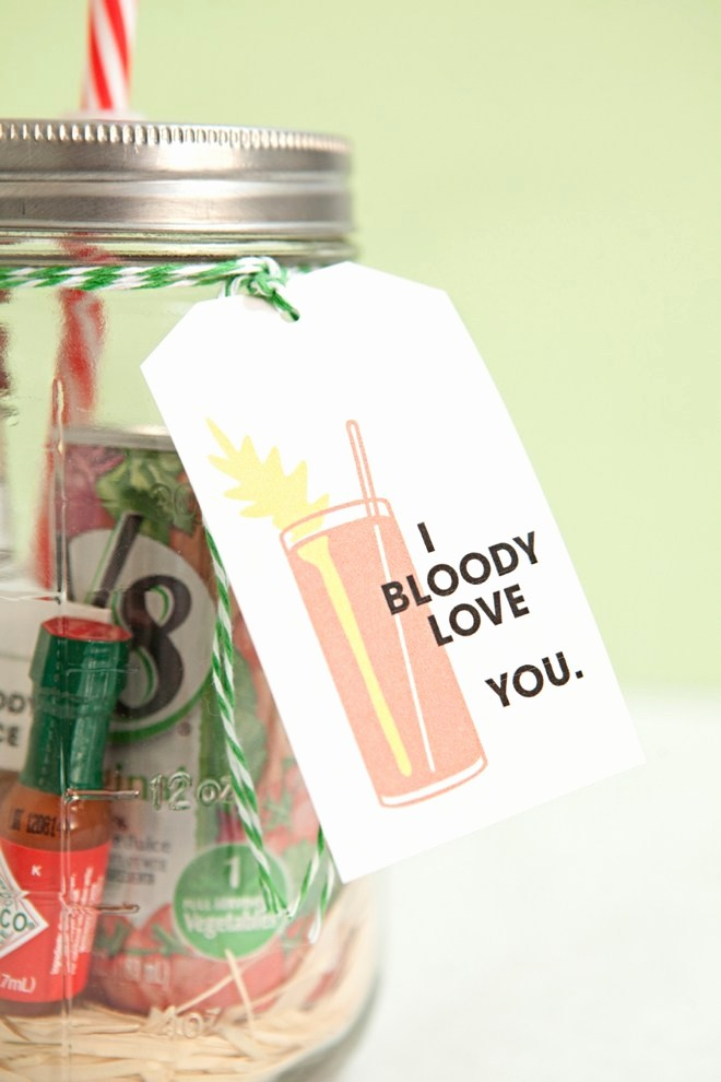 8.5 X 11 Recipe Template Lovely Make Your Own Mason Jar Bloody Mary Gift Spice Mix