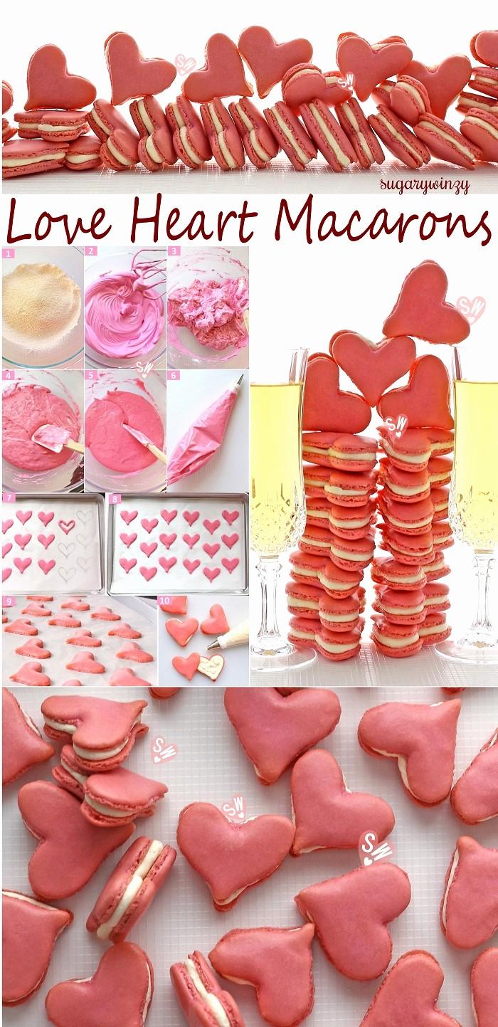 8.5 X 11 Recipe Template Unique Love Heart Macarons – Sugarywinzy