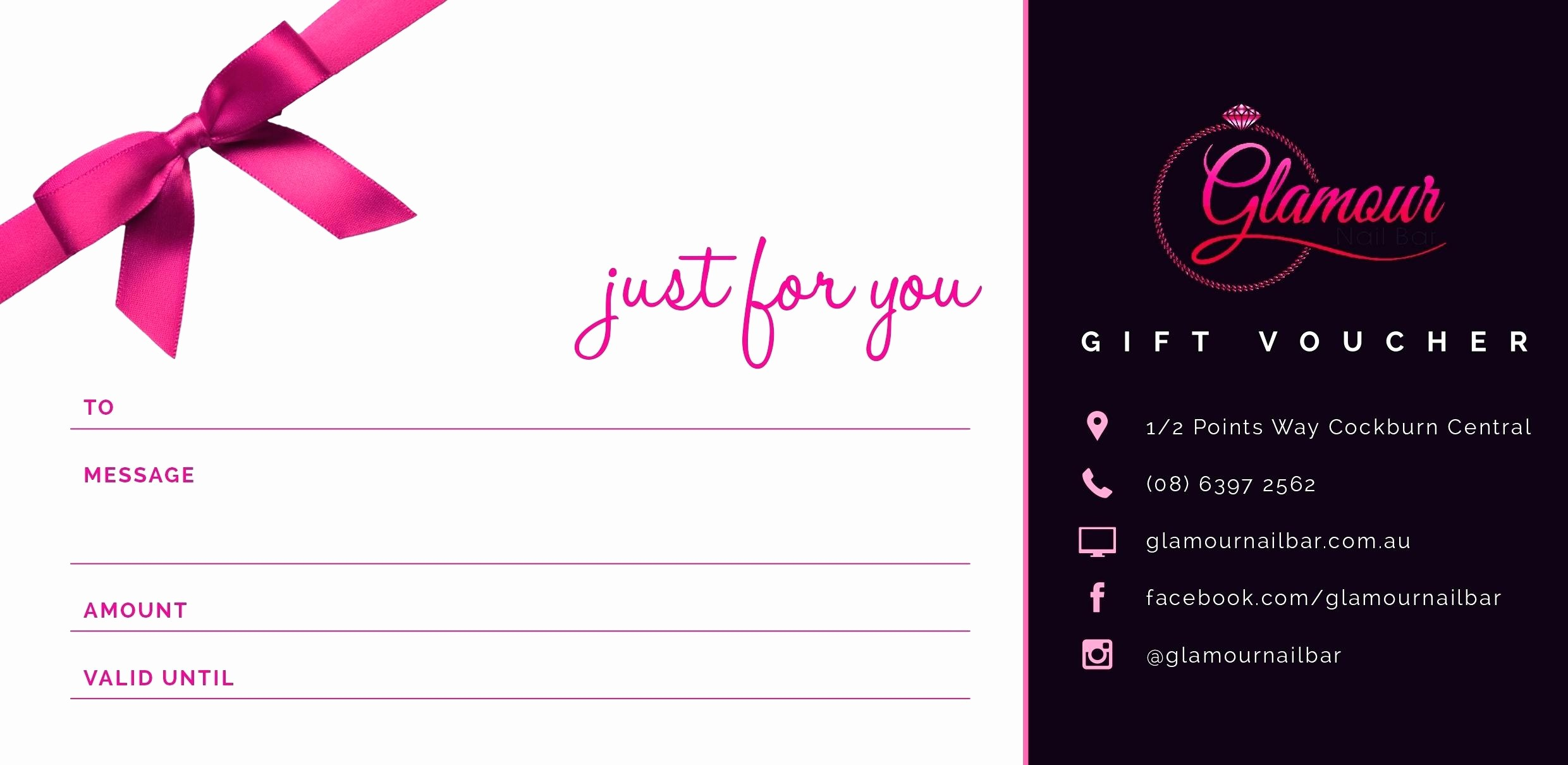 A Gift for You Template Awesome Template Gift Certificate Template Microsoft Word