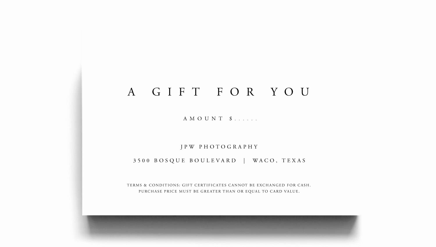 A Gift for You Template Lovely Gift Certificate Template A Gift for You Gift Voucher