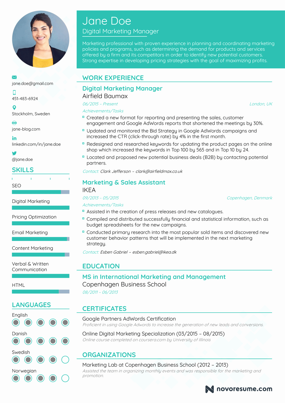 A Template for A Resume Awesome How to Write A Resume In 2018 Guide for Beginner