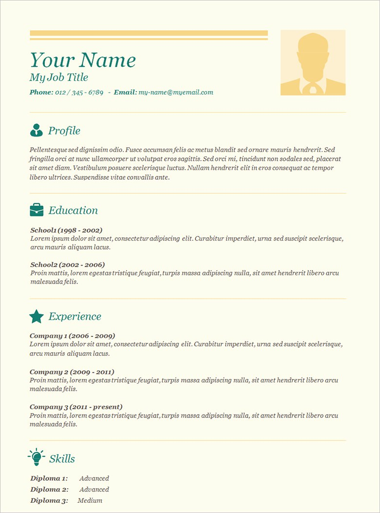 A Template for A Resume Luxury 70 Basic Resume Templates Pdf Doc Psd