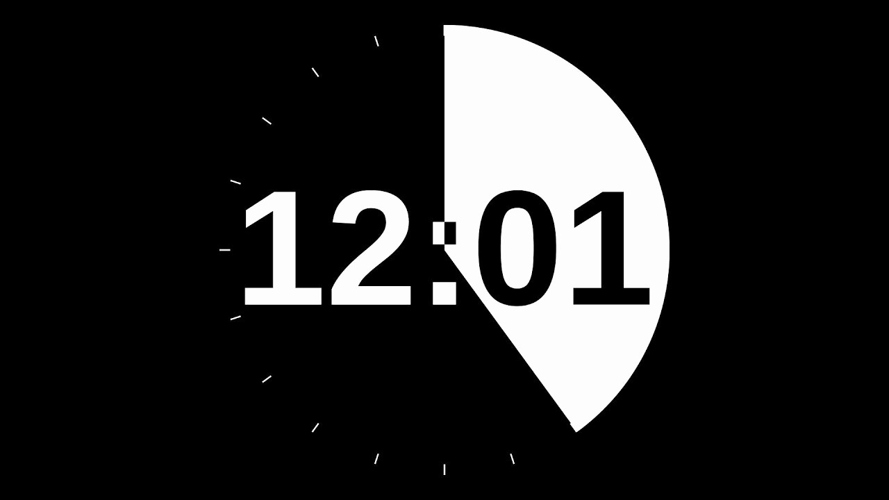 A Timer for 1 Minutes Beautiful 20 Minute Countdown Timer
