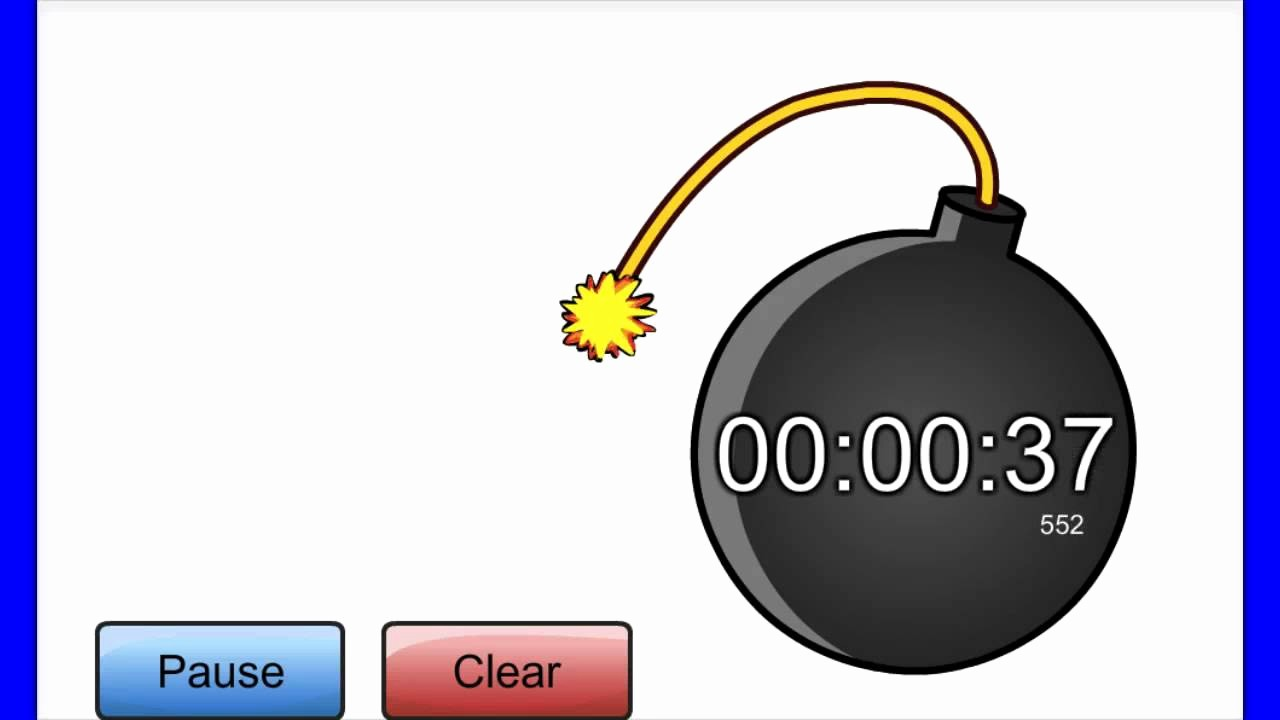 A Timer for 1 Minutes Elegant Countdown 2 Minutes