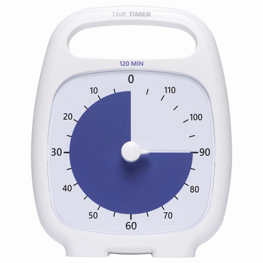 A Timer for 1 Minutes Inspirational Amazon Time Timer Plus 120 Minute Visual Analog Timer
