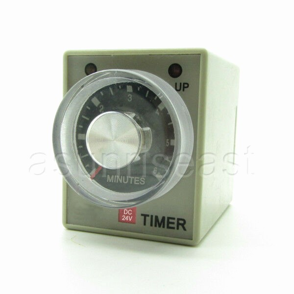 A Timer for 1 Minutes Lovely Dc24v 6 Minutes 0 6m Power Delay Timer Time Relay Ah3 3