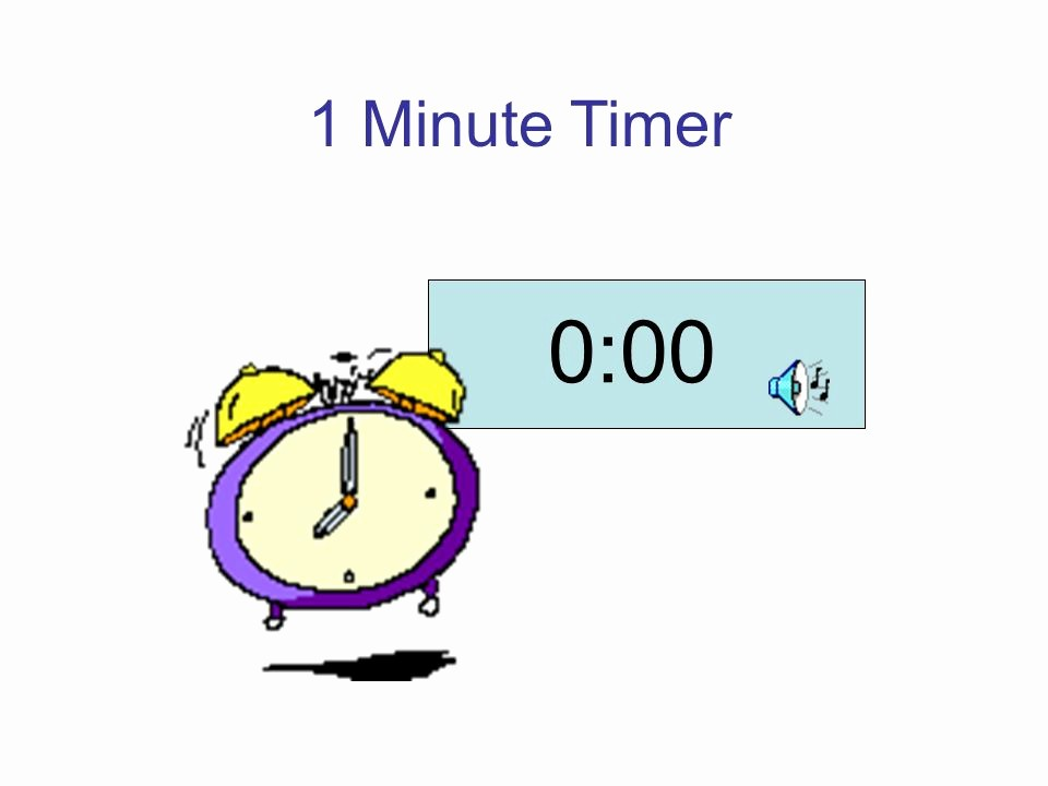 A Timer for 1 Minutes Lovely Timer Slides these Timer Slides Have Been Created for Your