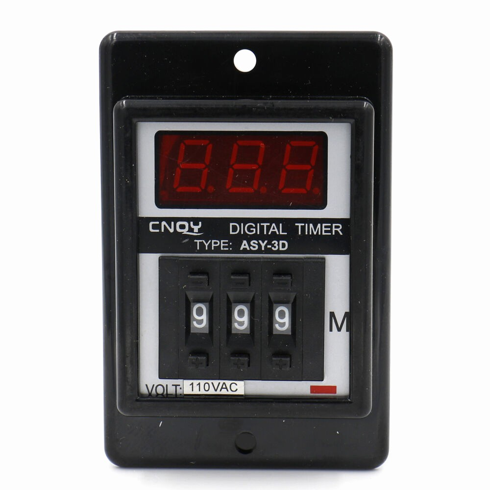 A Timer for 1 Minutes Luxury Digital Timer Time Relay Delay Timer asy 3d Ac110v 1 999