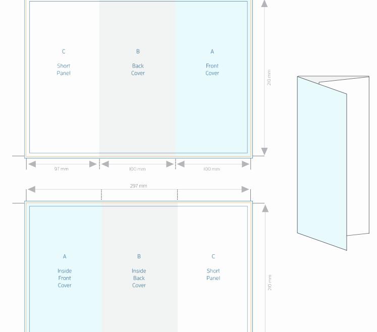 A4 Tri Fold Brochure Template Beautiful A4 Tri Fold Brochure Template Allprinting Brisbane