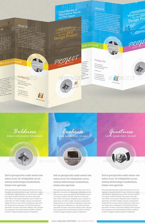 A4 Tri Fold Brochure Template Elegant Creative Tri Fold Brochure Design Templates