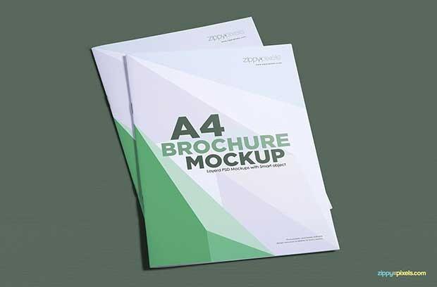 A4 Tri Fold Brochure Template Fresh 55 Best Free Brochure Mockup Psd Templates Download