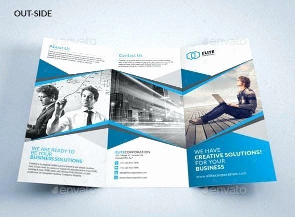 A4 Tri Fold Brochure Template Inspirational A4 Tri Fold Brochure Template Psd Proppersfo