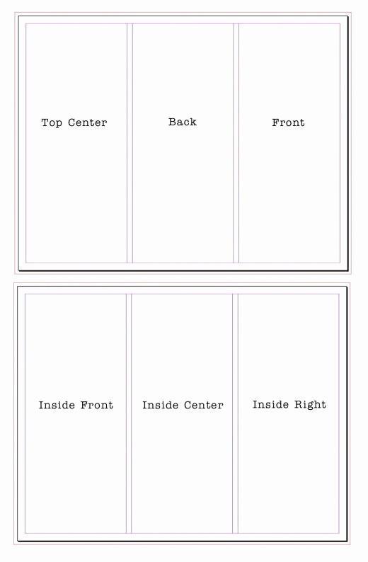A4 Tri Fold Brochure Template New Tri Fold Brochure Template Beepmunk