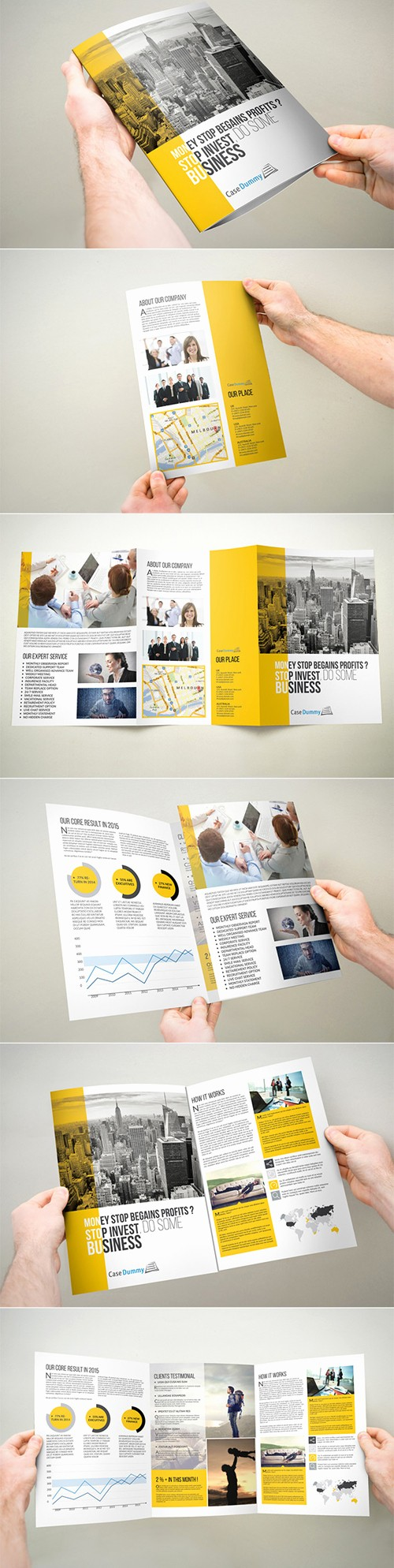 A4 Tri Fold Brochure Template Unique 15 Best Corporate Brochure Design Templates