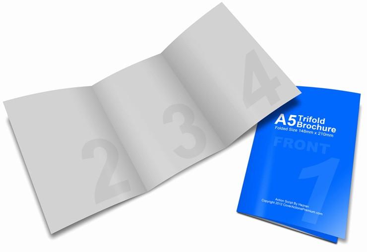 A4 Tri Fold Brochure Template Unique A5 Tri Fold Brochure Mock Up Action Set – Cover Actions
