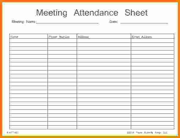 aa meeting attendance sheet free