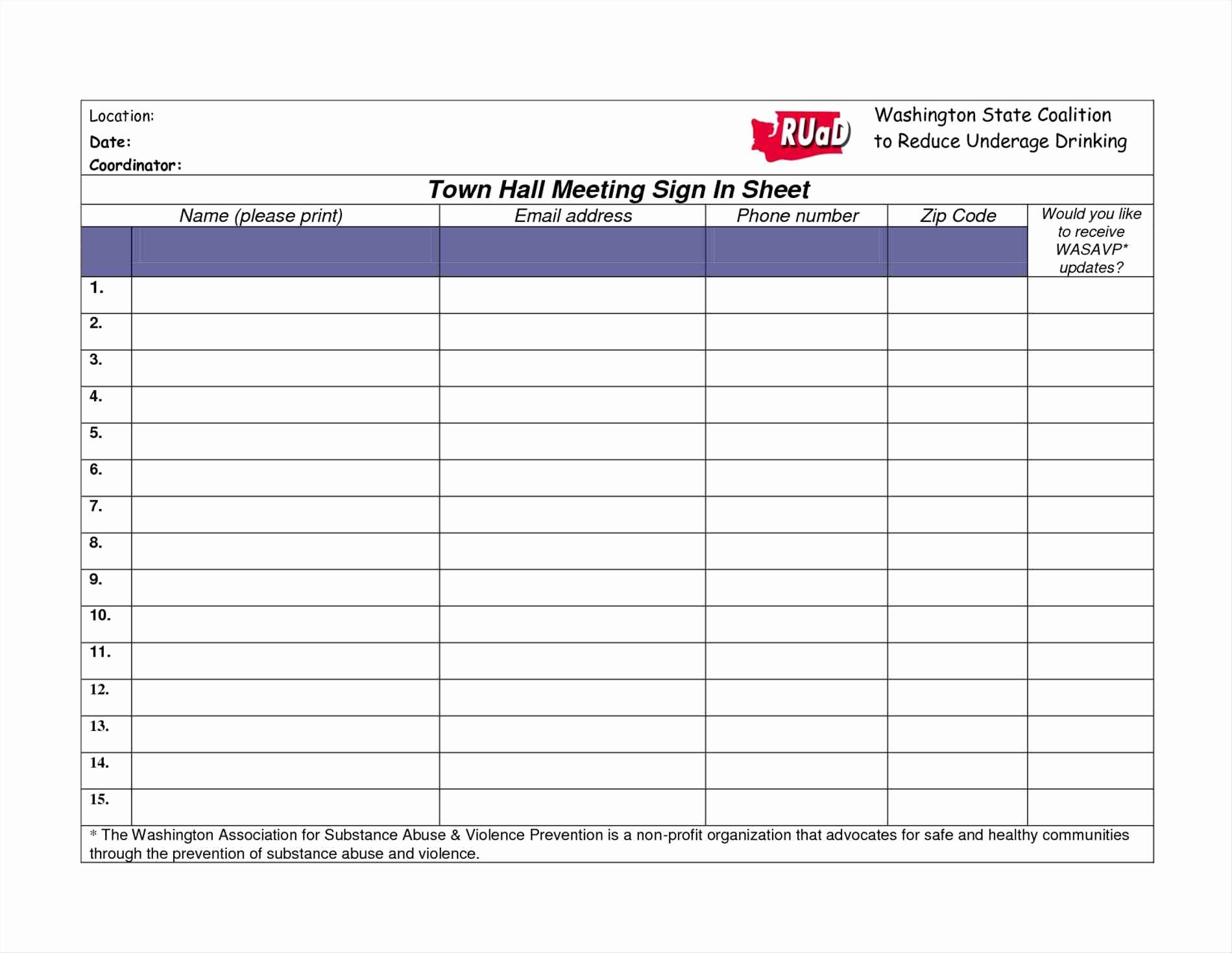 Aa Sign In Sheet Printable Lovely Aa Meeting Sign In Sheet Na Pdf Printable Alcoholics