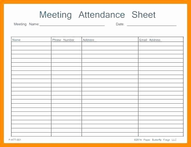 Aa Sign In Sheet Printable New 12 Aa Meeting Sign In Sheet
