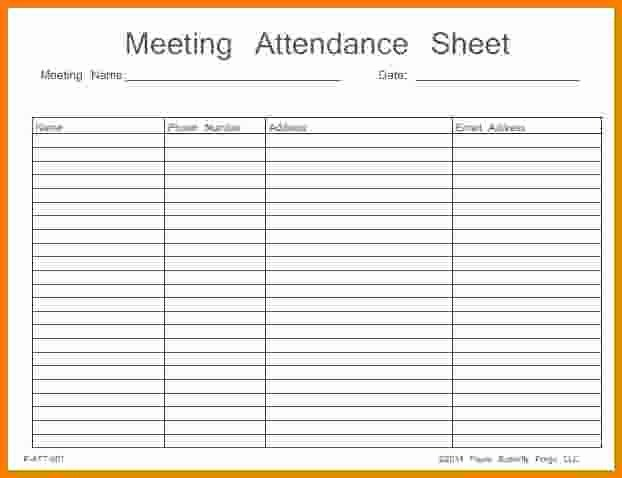 Aa Sign In Sheet Template Awesome Aa Meeting attendance Sheet Free Download Aashe