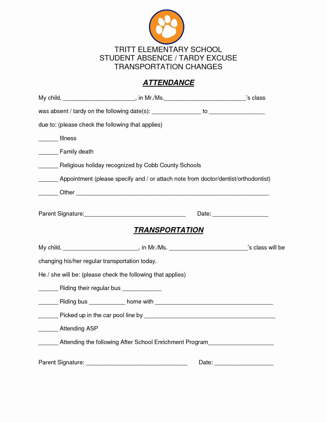 Absence Note for School Example New Best S Of Tardy Excuse Template for Work School
