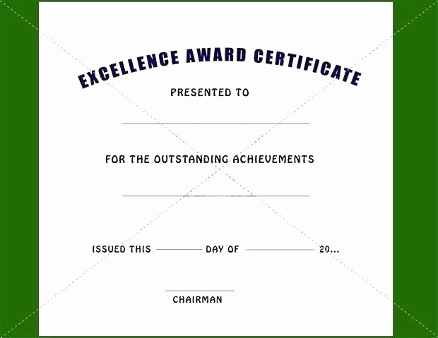 Academic Excellence Award Certificate Template Awesome Customer Service Excellence Award Template Award
