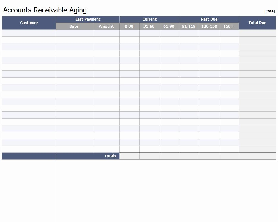 Accounts Receivable Excel Template Free Best Of Excel Templates