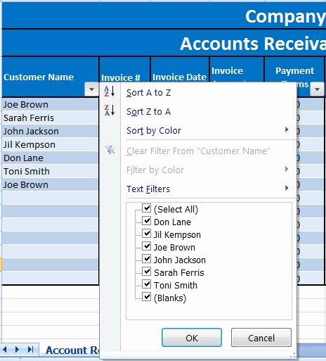 Accounts Receivable Excel Template Free Fresh Download Accounts Receivable with Aging Excel Template
