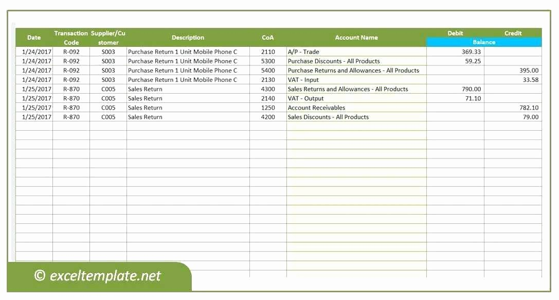 Accounts Receivable Ledger Excel Template Awesome Accounting Template Excel Templates Spreadsheet for Small
