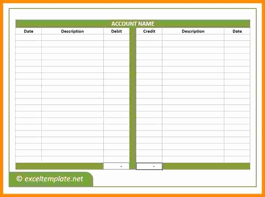 Accounts Receivable Ledger Excel Template Fresh Bookkeeping Ledger Template – Onlineemilyfo